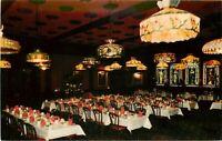 Chrome Oregon Postcard H628 Hoyt Hotel Portland Barbary Coast Interior 1969