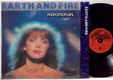 EARTH & FIRE Andromeda Girl LP 1981 Vertigo Germany orig w/inner NM in shrink