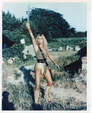 SYBIL DANNING WARRIOR QUEEN SEXY SWORD AND SANDAL PHOTO
