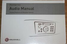VAUXHALL OPEL CORSA ASTRA VECTRA AUDIO TELEPHONE NAVIGATION SYSTEM CD MANUAL