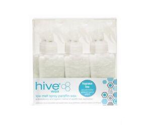 Hive Fragrance Free Paraffin Wax Spray Cartridges 80g x 6