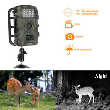Wildlife Hunting Camera 12MP HD Infrared Scouting Trail 850nm Night Vision IP54
