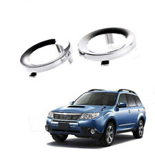 For Subaru Forester 09 -13  Chrome Fog Light Trim Ring Cover L=R  # 57731SC000