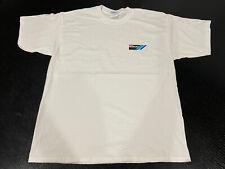 New White T-shirt Team Suzuki Logo