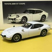 AUTOart MILLENNIUM TOYOTA 2000 GT COUPE White 1/18 Scale Free Shipping from JPN