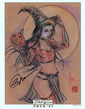 Baltimore Comic Con RARE Scavenger Hunt Exclusive Art Print ~ BIlly Tucci Shi