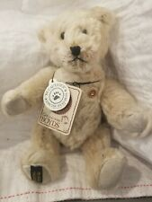 New listing Boyds Bears *Teddy B. Bear*, Mohair Bear #50004, Collectors Edition, Nwt