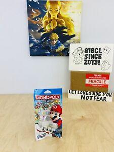 Hasbro Monopoly Gamer Board Game Edition Power Pack Boo Nintendo.