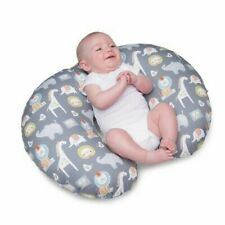 Boppy Nursing Support Pillow and Positioner Cotton Sketch Slate