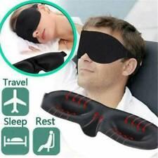 1xSleep Mask Sleeping Eye Cover Contoured Padded Blocking Night Blindfold Light
