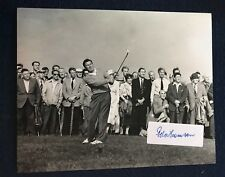 New listing Peter Thomson Signed 8 X 10 Photo Autographed Golf British Open Legend Sticker
