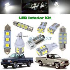 8x White LED Map Door Light interior bulb package kit fit 1998-2001 GMC Sonoma