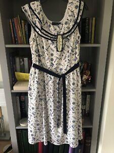 Vintage Navy Style Dress