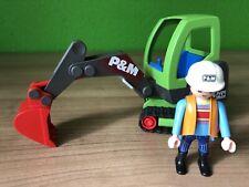 Playmobil 3279 Minibagger Baustelle