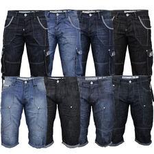 Crosshatch Polyester Cargo, Combat Shorts for Men