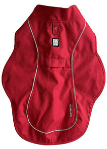 Ruffwear Overcoat Dog Jacket Red Currant Size Small