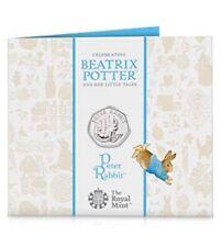 2020 Peter Rabbit 50p Coin Official Royal Mint Pack BU BUNC Beatrix Potter