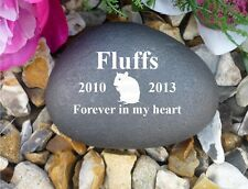 Pebble (Stone Effect) Personalised - Weatherproof - Hamster