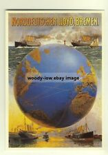 ad2165 - Norddeutscher Lloyd - modern poster advert postcard
