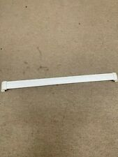 Ge Refrigerator Freezer door shelf with end caps used Part # Wr17X3692 or Part #