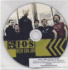 Is Ook Schitterend-Meer Van Jou promo cd single