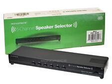 MONOPRICE 6-Channel Zone Surround Sound Speaker Selector / 8229 (MS-6)