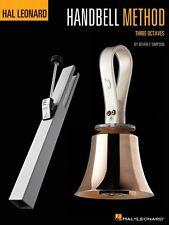 The Hal Leonard Handbell Method Three Octaves Instructional Book New 000842694