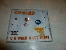 COOLIO - C U When U Get There - 1997 UK 4-track CD single