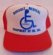 Vintage Durable Medical Equipment Trucker Mesh Snapback Hat Cap