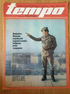 sport magazine TEMPO #154 football Radoslav Becejac WD-40 WD 40 commercial 1969