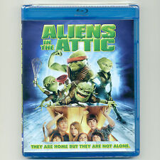 Aliens In The Attic 2009 PG fun family science fiction comedy movie, new Blu-ray