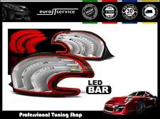 FEUX ARRIERE ENSEMBLE LDPE08 PEUGEOT 208 2012 2013 2014 2015 RED WHITE LED BAR