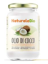 Huile Noix de Coco Extra Vierge 500 ml Crue et Pressée à Froid Pure 100% Bio