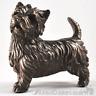 Cold Cast Bronze stood West Highland Terrier Westie ornament sculpture figurine