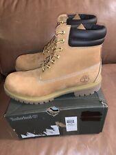 NIB Timberland 6-Inch Double Collar Waterproof Wheat Men's Boot 73540 - size 8.5