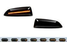 2X DYNAMISCHE LED SEITENBLINKER BLINKER SCHWARZ OPEL ASTRA J K INSIGNIA B SB12
