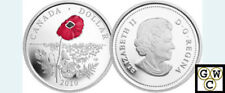 2010 Colorized Enameled 'Poppy' Proof Silver $1 (12744)