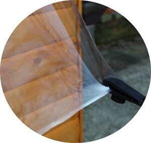 Klar sicht Folie 8,25 €/m² Klarsichtfolie  transparente  Folie 0,5 mm stark