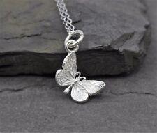 Halskette Kette Anhänger 925 Silber Schmetterling Schmuck Geschenk Silberkette