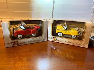 Pedal Car LOT NYC TAXI & Golden Gas 1:10 Scale Pedal Champs Vintage 2000 NIB