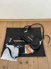 Prada bolso Sidonie Bag Saddle negro Black cuero bandolera