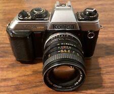 Konica FT-1 Motor SLR Film Camera With Hexanon AR 50mm Lens Parts Repair
