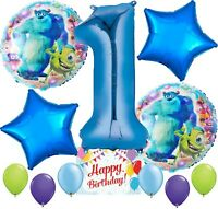 Monsters University Party Supplies Balloon Decoration Bundle for 1st Birthday