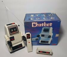 Tomy Chatbot Vintage Robot Battery Operated No 5404 with Box (See Condition)
