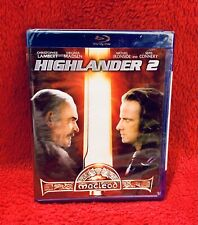 Brand New! Highlander 2 Out Of Print Oop Blu-ray Factory Sealed! Very Rare!