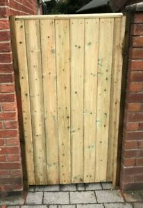 Wooden Gate Made To Measure Tongue & Groove Garden Gate