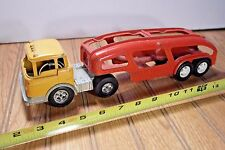 Vintage Hubley Ford Cab Over Truck and Car Trailer
