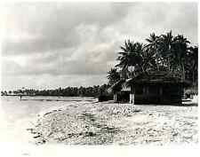 Polynésie Française, Habitation des militaires dans l'Atoll de Mururoa  Sil