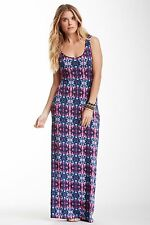 TART Collections 'Mary' Toile Print Maxi Dress - Sz S Beautiful & Sexy NWT
