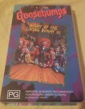 Goosebumps - Night Of The Living Dummy 3 - VHS